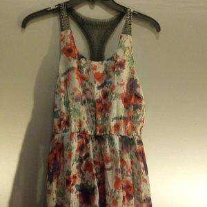 Charlotte Russe Hi-lo Sleeveless Dress Size S